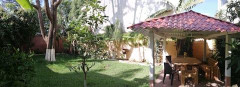 Habitación en terraza c/inodoro privado en Z10