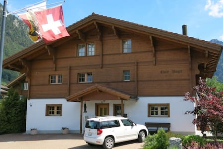 Five Star Chalet Margot 1 - Wilderswil - Σπίτι