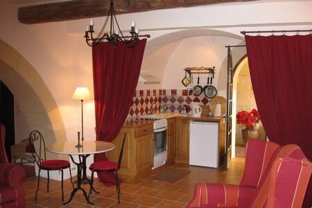 Studio spacieux dans Mas de village - Saint-Siffret