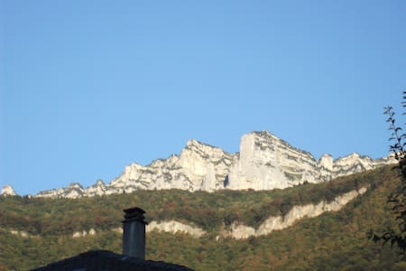 Chambre Twin - Au coeur du Village du Touvet ! - Huis