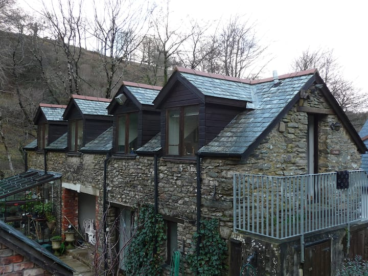 Exmoor. Cosy country cottage slps 2. Heated pool