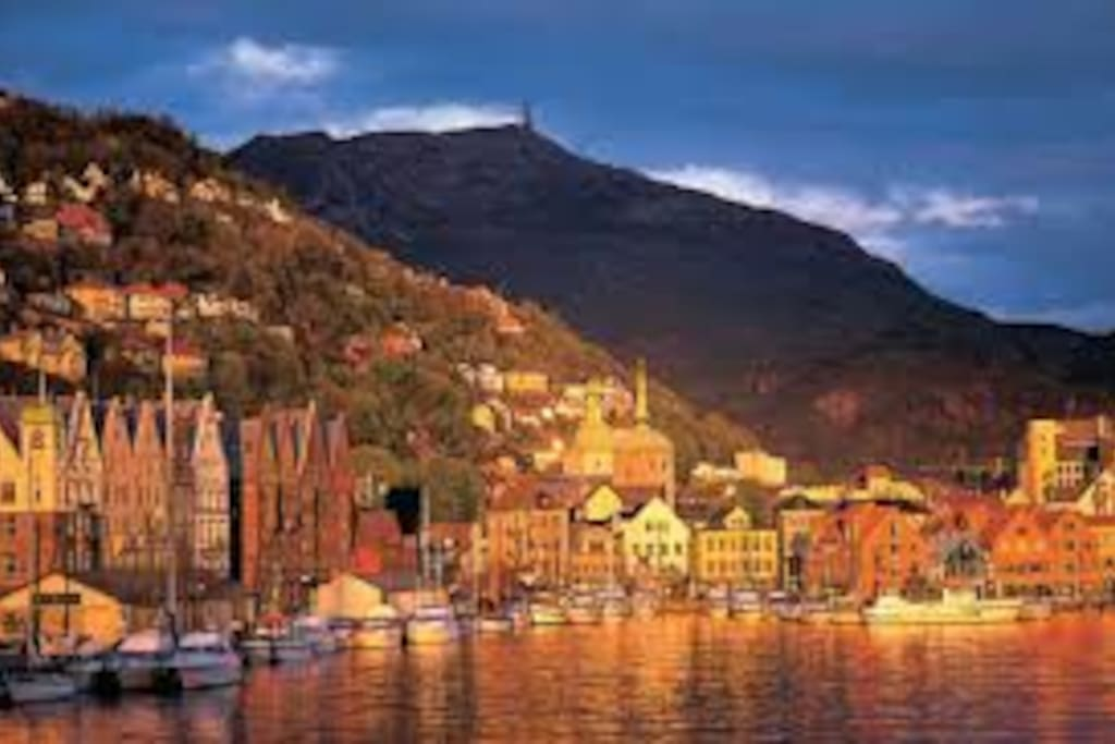 Enjoy staying central in beautiful Bergen