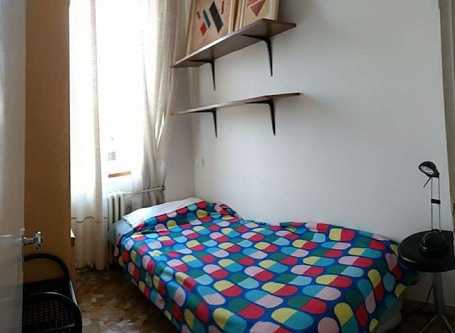 Small room in appartament next to the city center