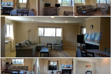 Spacious 2BR guest house in quiet neighborhood - Sunnyvale - Hus