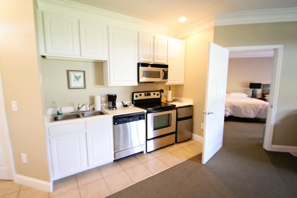 Grand suite kitchen area