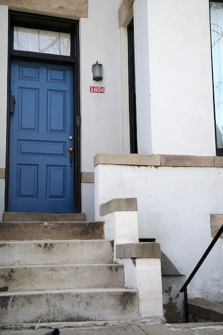 Welcome home! Our place is right upstairs from your cozy apartment.