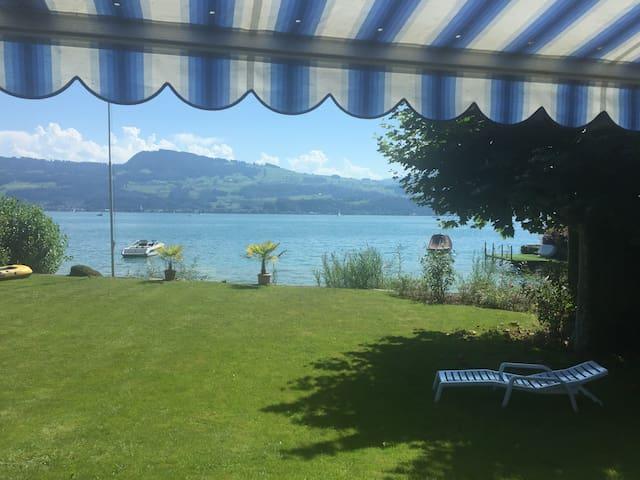 Lake House Villa with own Private Lake Access - Uerikon - บ้าน