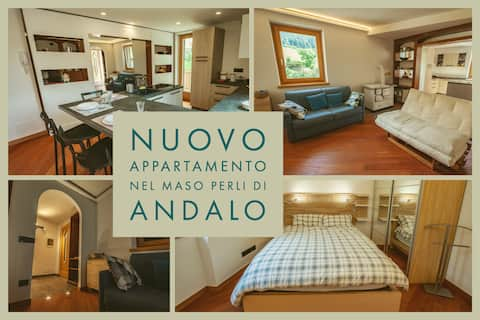 New apartment in Maso Perli in Andalo