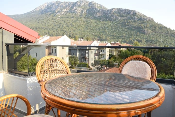 Ölüdeniz Roof Floor Terrace Sea Nature View