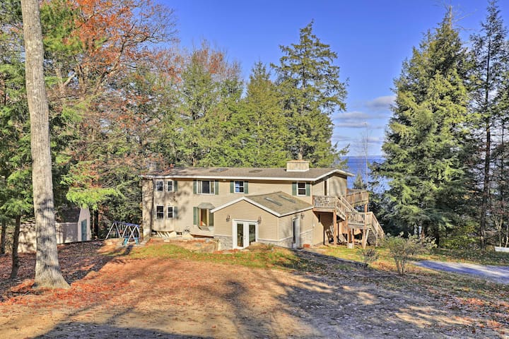 NEW! 4BR Home on Lake Champlain w/ Private Beach!