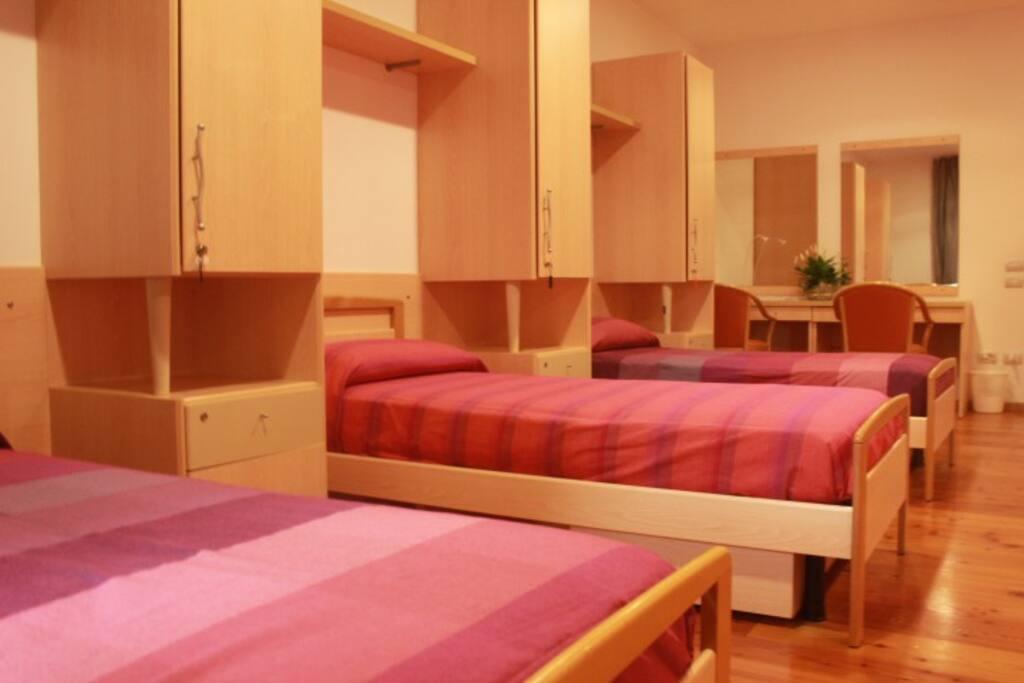 Camera da sei posti letto