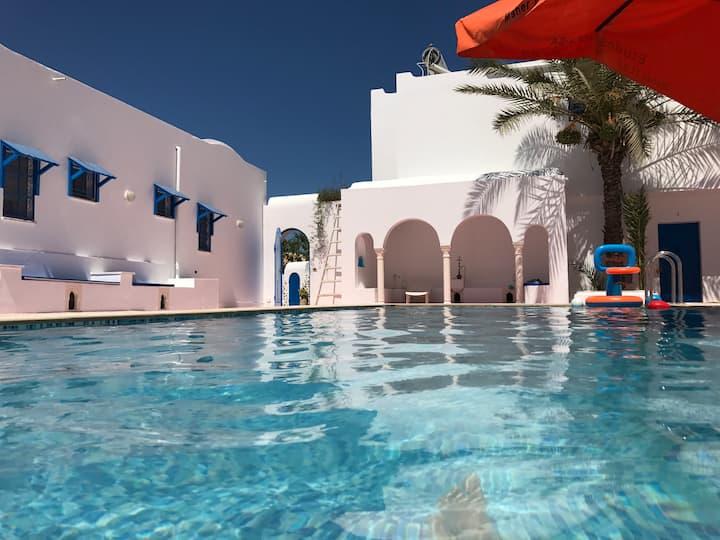 Appartement avec piscine Djerba