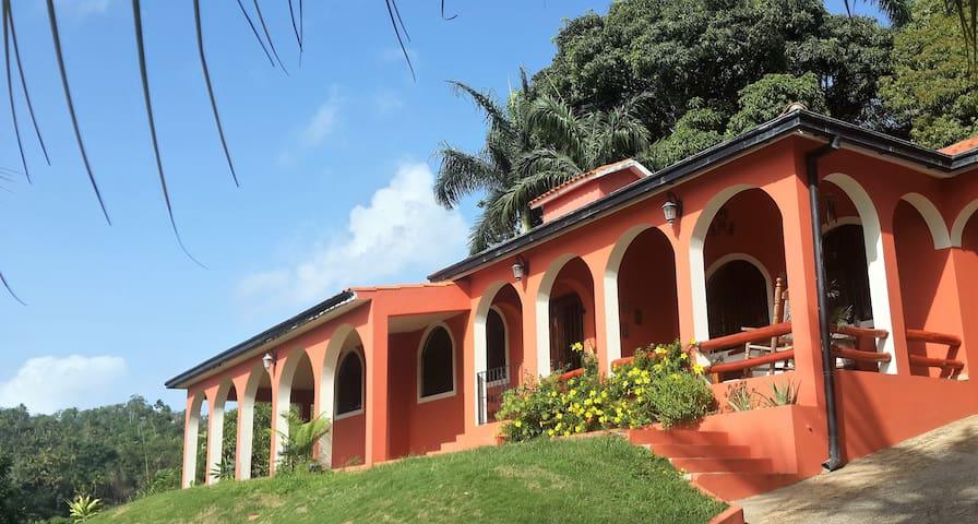 Villa Juliette Samana Bay view