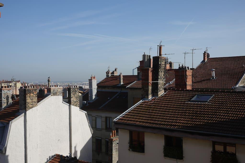 Une vue imprenable sur Lyon