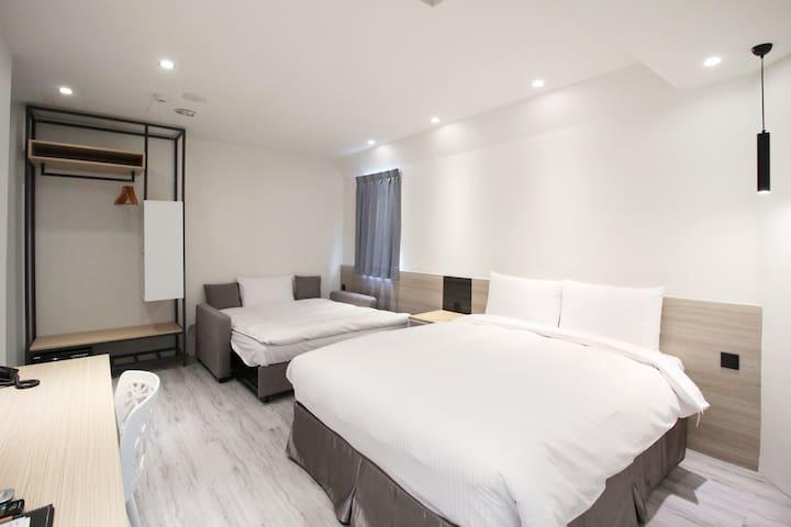 Green Hotel Chiayi - Triple Room