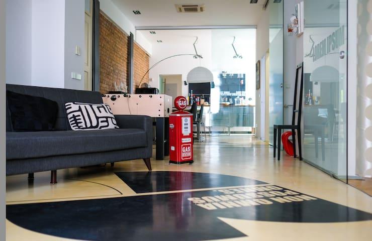BARTOL LOFT - free garage - GREAT LOCATION