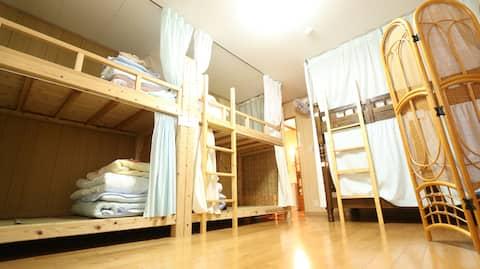 五島ゲストハウスうとじゅくミックスドミトリー Utojuku GuestHouse mix dom