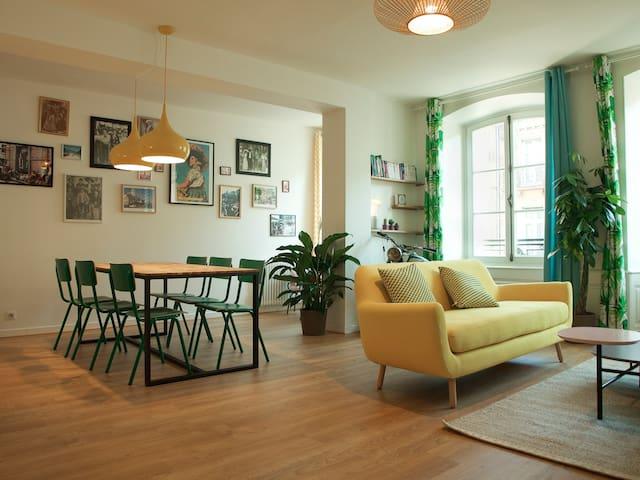 Appartement dépaysant de 120 m² - Strasbourg - Lägenhet