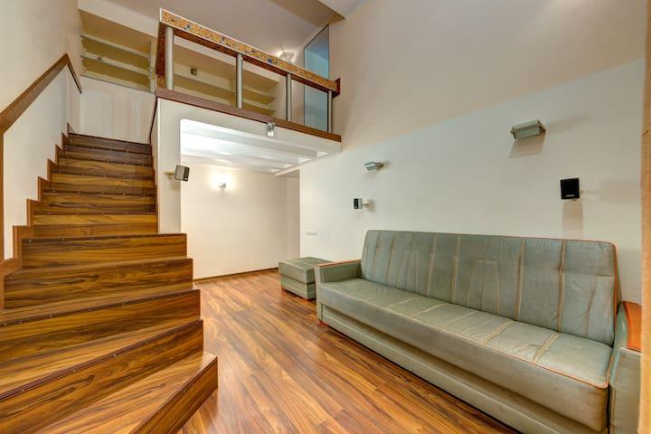 Шикарная трехкомнатная квартира