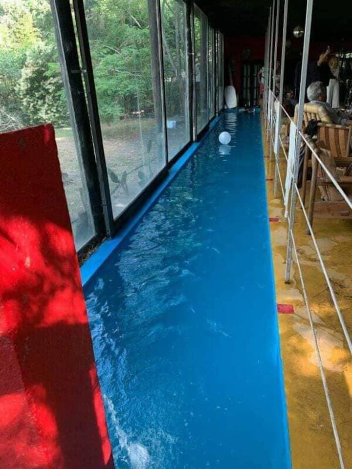 Casa descanso temporada El Pinar playroom piscina