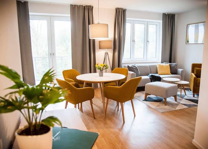 """""""Lütter See"""" Erdgeschoss Wohnung mit Balkon"""
