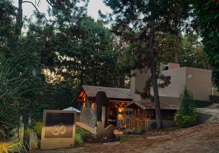 Casa Zen ubicada en el bosque de Avándaro