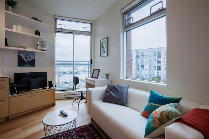 Contemporary Microloft - Central Harbourview⛵️
