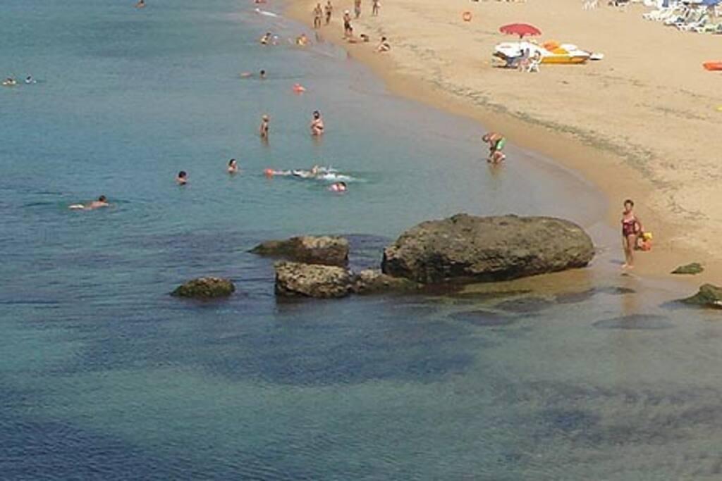 la spiaggia libera