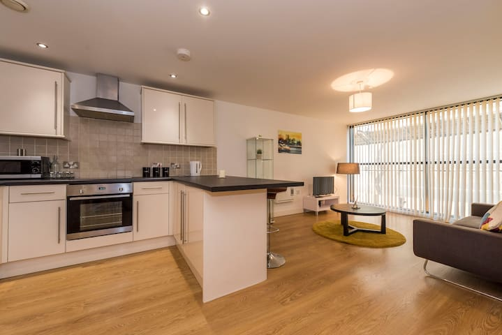 Modern Apartment in Liverpool - Liverpool - Apartament