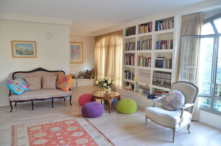 Private BR and Bath in Lovely House - Jerusalem - Huis