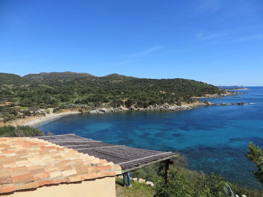 Panoramic view from the house