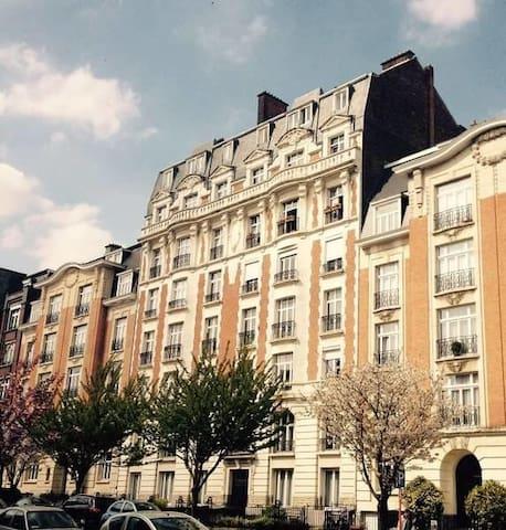 Charming Victorian Apartement - Woluwé-Saint-Lambert - Daire