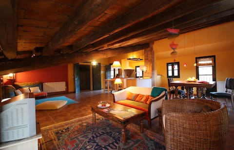 Loft Hindú, apartamento romántico