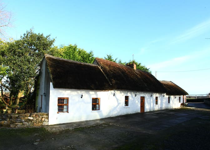 Idyllic Thatched House Overlooking Dromore Castle - Limerick - House