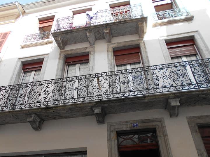 Appartement avec balcon, 1er étage