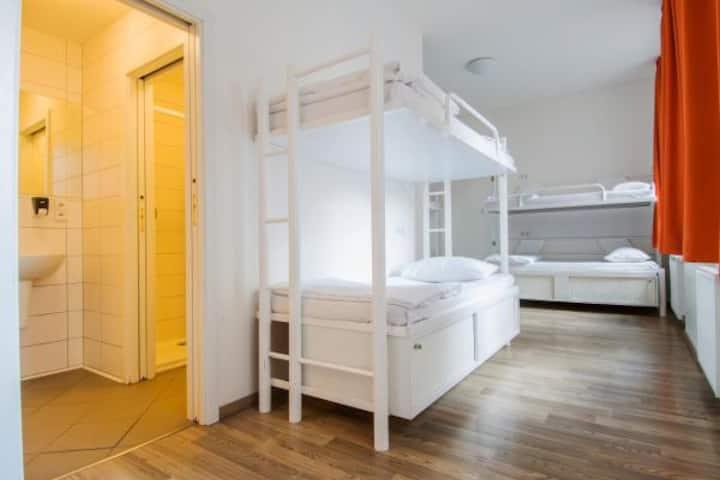 A Hostel Bed Dorm, in the Best part of Prague