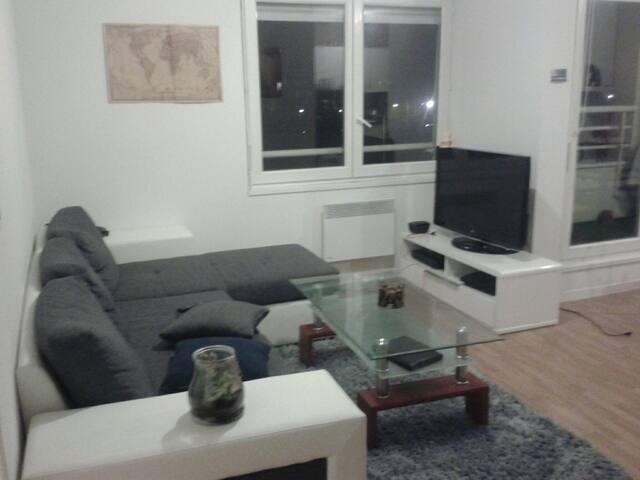 Appartement récent de 45 m2 vers Leclerc. PAU