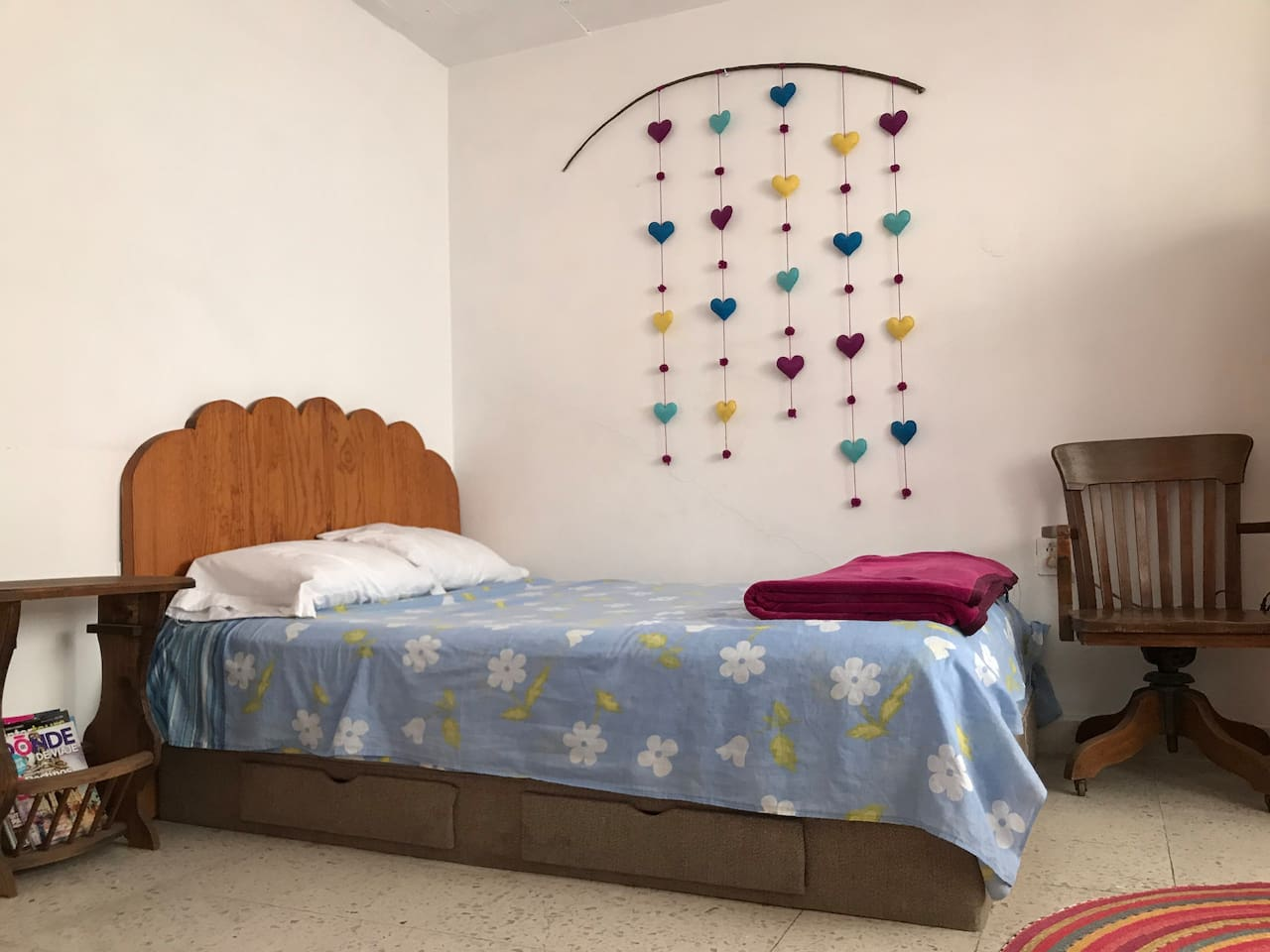 Cama matrimonial  Bed for two