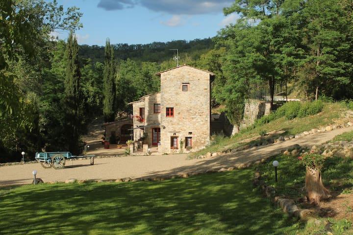 Appartamento nel Chianti al Mulino dell'Argenna - Barberino Val D'elsa - Apartment