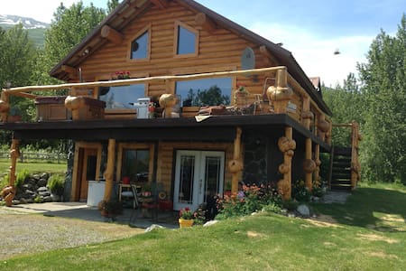 log home with spectacular views!! - Palmer