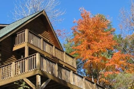 Secluded Cabin beside state park - Connelly Springs - Srub