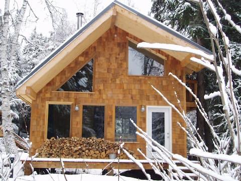 Quiet, private cabin w/ mtn. views