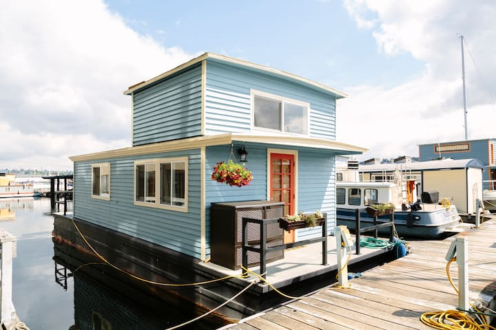 Hippin Jicama Houseboat - Seattle - Rumah