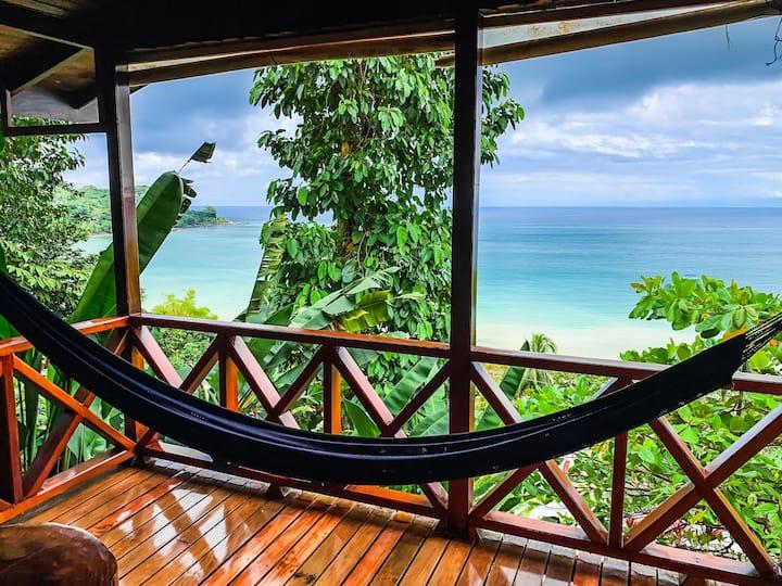 Bungalow - Ocean view - Agujita de Drake - A/C