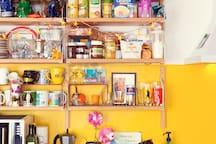 La cuisine jaune