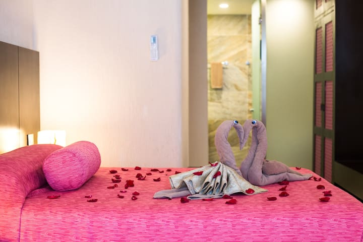 Suite romántica con Patio Privado