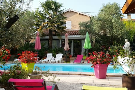 Cottage -pool 40 km from Toulouse - Gratens - Haus
