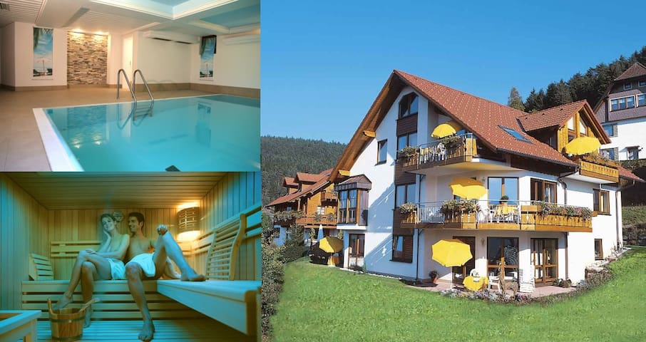 Panorama Family Suite with indoor pool and sauna