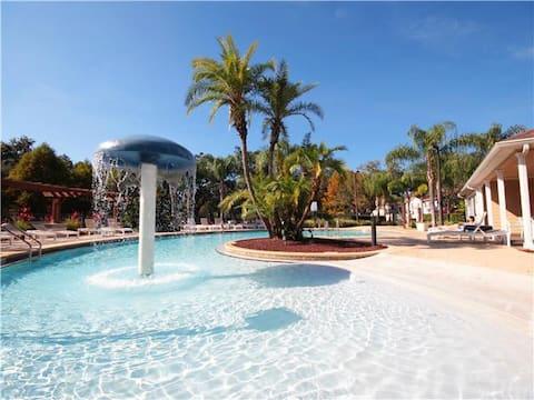 4/3 luxury townhome resort amenities & gaming room