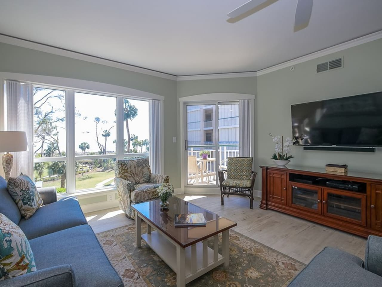 4202 Windsor Court North is a Beautifully Updated Two Bedroom Villa in Palmetto Dunes
